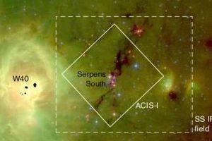 Khoa học sửng sốt tìm ra bất ngờ trong cụm sao Serpens South