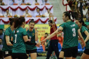 VTV Bình Điền Long An thắng giòn giã trận ra quân giải bóng chuyền nữ quốc tế