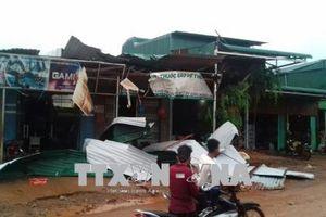 Lốc xoáy gây thiệt hại nhà ở, cây trồng ở Đắk Nông