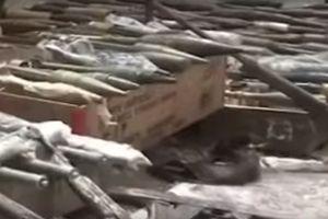 Quân đội Syria chiếm giữ kho vũ khí khổng lồ của phe thánh chiến ven Damascus