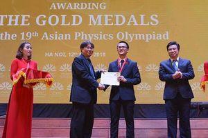 Việt Nam giành 4 HCV cuộc thi Olympic Vật lý châu Á, xếp thứ 3 toàn đoàn