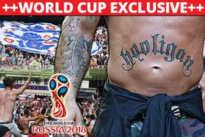 World Cup khó yên bình vì hooligan