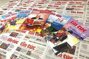Báo Tin tức thể hiện rõ vai trò của tờ báo chính thống