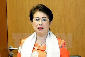 Bà Phan Thị Mỹ Thanh được cho thôi làm ĐBQH khóa 14