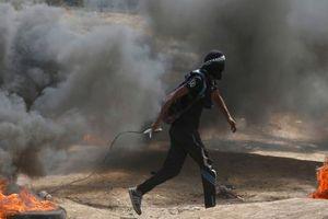 Hình ảnh hỗn loạn đầy khói súng tại Gaza sau khi Mỹ mở Đại sứ quán ở Jerusalem