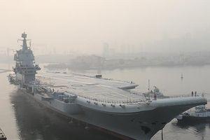 Trung Quốc cho tàu sân bay tự chế đầu tiên chạy thử