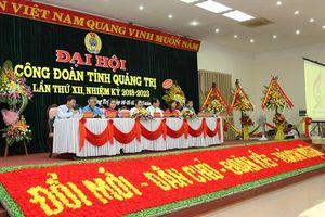 Bắt đầu phiên thứ nhất Đại hội công đoàn tỉnh Quảng Trị