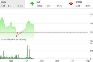 Phiên sáng 14/5: Nhà đầu tư thận trọng, thị trường giằng co nhẹ