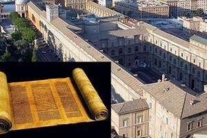 Bí ẩn về mê cung ngầm chứa sách quý của Tòa thánh Vatican