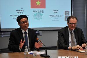 Tăng cường dự án hợp tác vùng Wallonie-Bruxelles với Việt Nam