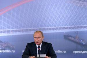 Tổng thống Putin sẽ tham dự khánh thành cầu Crimea