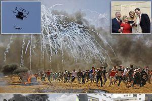 Sự tương phản nhói lòng giữa nụ cười của con gái Trump và máu của người Palestine
