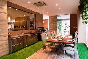 Căn hộ 6th Element được trang bị thiết bị bếp Đông Dương Home Interior