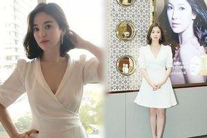 Song Hye Kyo duyên dáng nền nã ở Thượng Hải