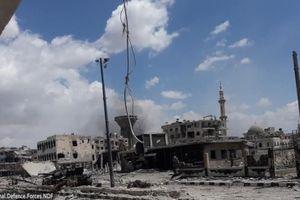 Chùm ảnh: Quân đội Syria đánh IS tan tác ở Nam Damascus