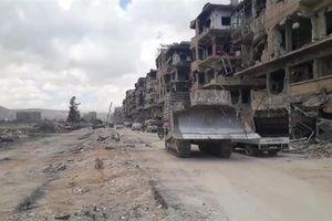 Video; Theo chân quân đội Syria tấn công sào huyệt IS ở nam Damascus