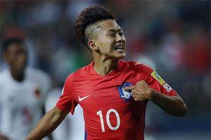 'Messi của Hàn Quốc' sáng cửa dự World Cup 2018