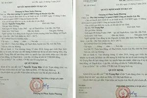 Khởi tố 2 cán bộ chiếm đoạt tài sản của dân vụ đền bù Formosa