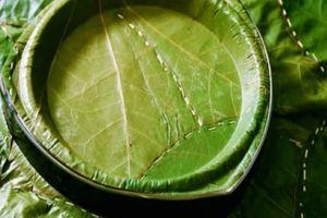 Bát đĩa từ lá cây, vừa rẻ vừa an toàn, lại thân thiện