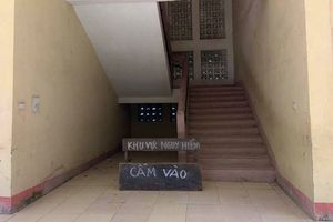Thanh Hóa: Sẽ xử lý dứt điểm trường Tiểu học bị nứt