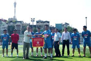 Tìm ra nhà vô địch Giải bóng đá mini Khối phường và cụm Văn hóa - Thể thao quận Ba Đình 2018