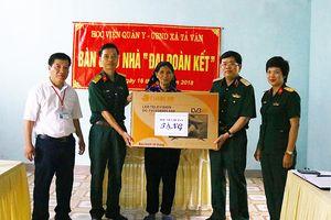 Học viện Quân y trao tặng Nhà đại đoàn kết tại Hà Giang
