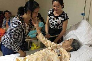 Cụ bà 101 tuổi bình phục sau 20 ngày phẫu thuật gãy xương đùi