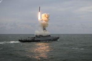 Nga triển khai tàu chiến tên lửa vô đối sát vách Syria