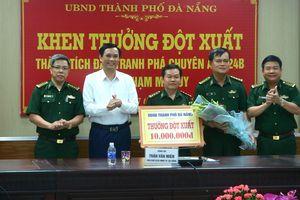 Khen thưởng BĐBP Đà Nẵng vì thành tích phá thành công chuyên án 424B