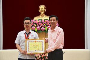 Tỉnh Quảng Ninh khen thưởng học sinh giành huy chương đồng Olympic Vật lý châu Á
