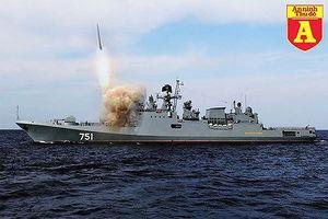 Chiến hạm mang 'sát thần' Kalibr của Nga đang trực chiến ở Địa Trung Hải