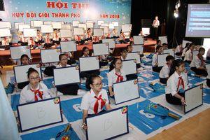 Tranh tài cùng 'Chỉ huy Đội giỏi' Hà Nội 2018