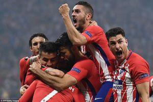 Marseille tự thua, Atletico Madrid vô địch Europa League