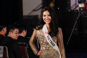 Á hậu Kiko Chan ẵm hai giải thưởng tại Miss Supper Talent 2018