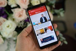 Mở hộp Samsung Galaxy A6+ tại Việt Nam, giá 8,99 triệu đồng