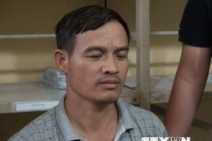 Hung thủ chém chết cha con ở tỉnh Hưng Yên ra đầu thú