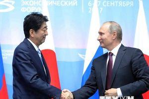 Lãnh đạo Nhật-Nga sẽ bàn về hợp tác kinh tế tại quần đảo tranh chấp