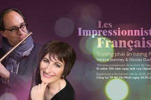 Đêm song tấu sáo-piano - Ấn tượng Pháp
