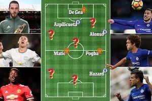 Sẽ thế nào nếu mang đội hình M.U và Chelsea trộn lại với nhau?