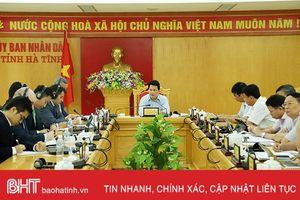 Hà Tĩnh cần một kế hoạch chặt chẽ để thúc đẩy tăng trưởng kinh tế