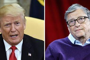 Tổng thống Trump không thể phân biệt HIV với HPV, Bill Gates phải trổ tài giải thích