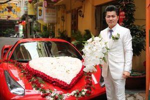Cận cảnh xe hoa 15 tỷ và dàn mô tô 'khủng' trong đám cưới Lâm Vũ gây xôn xao mạng xã hội