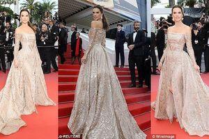 'Thiên thần' Alessandra Ambrosio đẹp xuất thần trên thảm đỏ Cannes