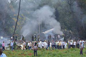 Rơi máy bay chở khách ở Cuba, hơn 100 người chết