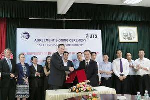 Đại học Công nghệ hợp tác đào tạo, nghiên cứu công nghệ với Đại học Công nghệ Sydney