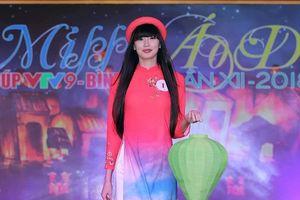 Người đẹp thể thao Sabina đoạt Miss Áo dài VTV9 Bình Điền