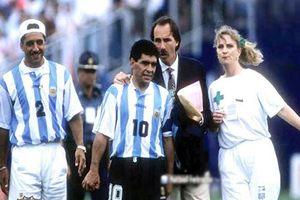 Maradona ở World Cup 1994: Ma túy và bị đồng đội 'đâm lén sau lưng'