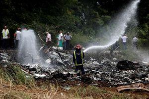 Hiện trường thảm khốc vụ rơi máy bay chở hơn 100 người ở Cuba