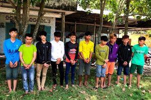 Hàng chục thanh niên hỗn chiến trong đêm, 3 người chết: Bắt 10 nghi can