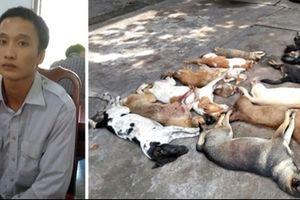 Chốt chặn nam thanh niên 'bất minh' chở 15 xác con chó, mèo